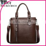 Men's Bag Small Business Briefcase Vintage Leather Messenger Bag Fashion Crossbody Bags For Men