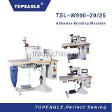 TOPEAGLE TSL-W900-20/25 newly sew free seamless bonding tape adhesive hemming underwear machine for seamless ladies pants