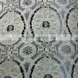 nylon cotton fabric lace knitted type factory production TH-2055