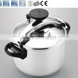 100% safety guarantee 18/8 weight valve pressure cooker suitable to gas stove & induction cooker CSB 22cm 4L