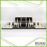 Hot sell classical Wooden Watch display, counter display