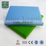Soundproof fabric acoustic panel sound absorbing fiber glass wool fiberglass sound absorbing board wall coverings