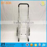 Wholesale climbing stair folding shopping cart, mini shopping trolley cart, aluminum climb stairs folding shopping cart                                                                         Quality Choice