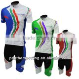Anti Bacterial Sublimated Printing Women Bike Clothing