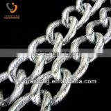 Fashion aluminum aluminum belt chains
