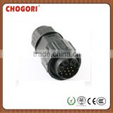 large series ,3+9 pins,bayonet lock type,field installable, ip67/ip68 waterproof connector