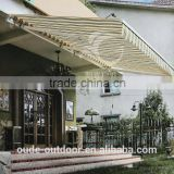 Hand Control/Auto Front Door Canopy Awning Aluminium Retractable Awning                                                                         Quality Choice