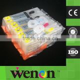 6 Color PGI570 CLI571 Refillable Cartridge With Permanent Chip For Canon PIXMA MG7750 MG7751 MG7752 MG7753 Printer