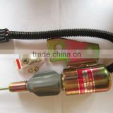 Flameout switch 3991168 3991167 Stop solenoid Shut off solenoid for Excavator Hyundai R130 B3.9 Volvo EC140LC