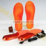 heated silicone insole / thermal height increase insole / insole to reduce the size of shoes