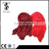 top style accessories nylon feather yarn elegant magic scarf china factory