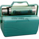 Stainless Steel Thermos Flask and Cooler Box combo