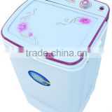 single tub semi automatic washer/washing machine/laundry machine with glass top cover