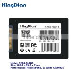 KingDian solid state drive ssd highest speed sata3 2.5inch ssd 240gb hard drive for Desktop and Laptop