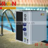 Chinese good performance swimming pool heat pump water heater european style with titanium heater exchanger