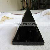 Hot Sale Natural Rock Black Obsidian Stone Crystal Pyramid