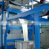 Textile long loop steamer machine