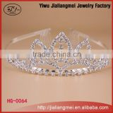 2015 New fashion Elegant queen Crown And Tiaras girls hair accessories sets For Wedding