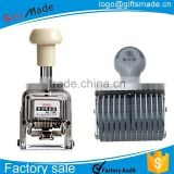 date stamp automatic metal number stamps