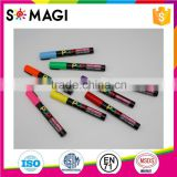8 Pack Fluorescent colors Anti-wipe Bingo Marker with Reversible 6mm Tip for Kids Creative Writing