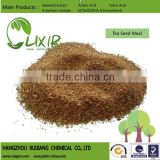 Tea Seed Meal without straw/Tea Seed cake for Aquaculture, for crops, for golf