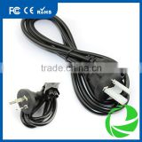 Australian Standard 3 prong for Laptop power charger adapter ac cable 1.8M 1.5M 1.2M 1M AC copper wire