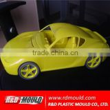 Plastic baby toy vehicle mould