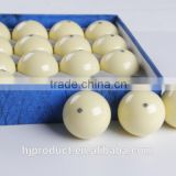 "57.2mm (2-1/4"") Standard size High qualtiy resin Blue dot Pool cue ball/ White ball/ Factory promotion"