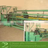 fully-automatic chain link fence making machine for sale/semi automatic chain link fence machine