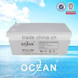 1200ah 12v solar battery the Ocean brand Gel batterie for PV system