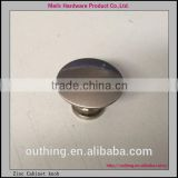China Foshan Manufacturer 28.5mm brass color circle bedroom cabinet furniture cabinet knob