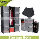folding portable plastic wardrobe cabinet/closet,home living room plastic storage cabinet