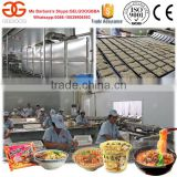 Fried Instant Noodle Maker Machine/Cup Noodle Making Machine/Instant Noodle Processing Line