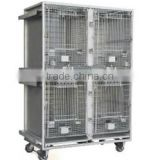 Laboratory animal cage for monkey