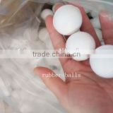 High bouncing ball rubber ball solid rubber balls sifter mesh ball 30mm rubber ball PU ball