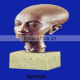 Polyresin customized polyresin decorative egyptian statues
