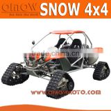 Euro 4 EEC 500cc Rubber Crawler Tracked Snowmobile