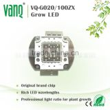 full spectrum cob,30-150w,with multi-chip grow led chip,DC 20-36V voltage
