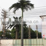 Home garden decoration 100cm to 1000cm Height artificial indoor live plastic ficus red with green palm tree EZLS05 1006