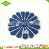 Doily woven decorative round paper placemat woven rattan placemat