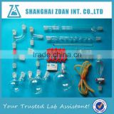 Hot sell heat resistant borosilicate glass lab glassware kit