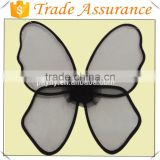 High quality 2014 net yarn material black angel butterfly wings wwholesale for sale