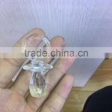 wholesale crystal nipple for baby baptism souvenir,crystal baby pacifier,Crystal Baby shower souvenir JC-CP -105