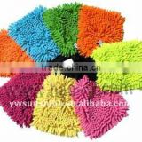 Microfiber chenille car wash glove