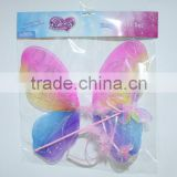 Onbest Wholesale Cheap Costume Butterfly wing +Fairy Wand Wholesale Angel Wings