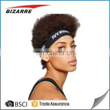 BSCI Hair Accessories Factory Wholesale Unisex Elastic Silicone Hair band Non Slip Hairband For Sport
