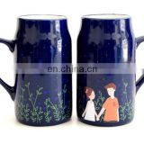 Best quality custom made color change mug ceramics cup for sale