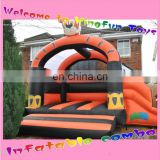 Tiger inflatable bouncy house combi