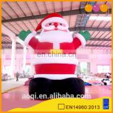 AOQI commercial use factory price inflatable model inflatable Santa Clause
