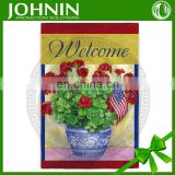 2015 outdoor practical wholesale garden flag